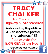 Link to Elect Tracy Chalker on Facebook