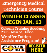 Link to COVA website for EMT class information