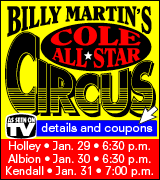 Link to Billy Martin Circus website