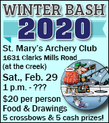 Winter Bash at St. Mary's Archery Club 1 p.m. February 29