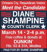 Meet and greet Diane Shampine at Dunkin' 2 p.m. March 14