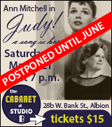 Link to ticket purchase for Judy at The Cabaret at Studio B