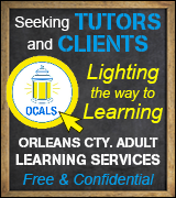 Link to Orleans County Adult Literacy Services website