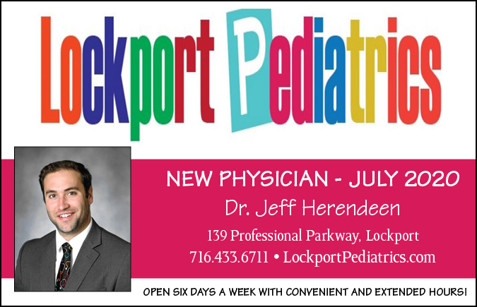 Link to Lockport Pediatrics website