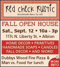 Red Check Rustic