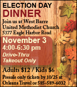 7133 West Barre UMC  11/3