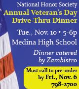 7195 Medina Veteran's Dinner 11/10