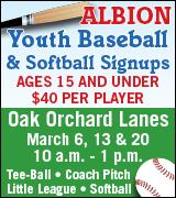 145-104 Albion Baseball 3/20