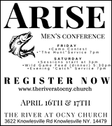 River at OCNY Church 4/17