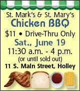 160-70 St. Mary's St. Mark's Chicken BBQ 6/19