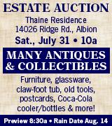 1805-27 Thaine Auction 7/31