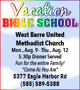 168-100 West Barre VBS 8/9-12