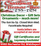 1682-23 Christmas Treasure Box Open