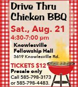 1768-20 Knowlesville UMC BBQ 8/21