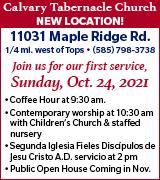 177-101 Calvary Tabernacle 10/24