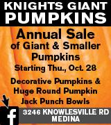 1888-2 Knights Pumpkins 10/31